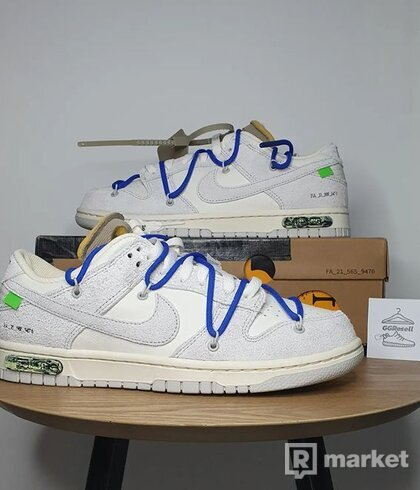 Nike Dunk Low X OFF White Lot 32