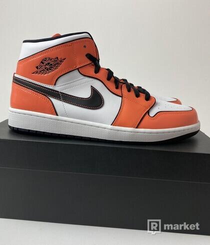 Jordan 1 Mid SE Turf Orange - US 12