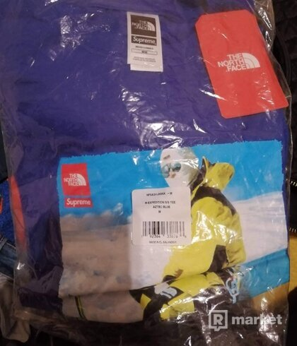 Supreme Tnf North Face Tee purple