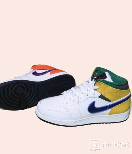 Air Jordan 1 mid Alternative multicolour
