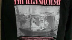 Off-White Black Denim 'Impressionism' Shirt