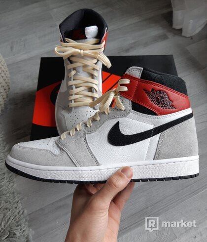 Nike Jordan 1 High Light Smoke Grey