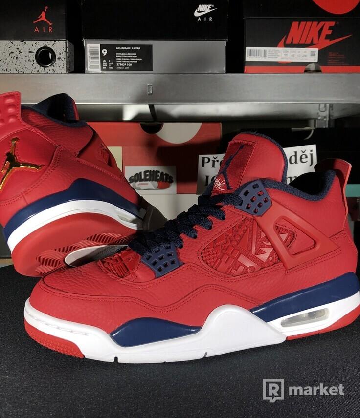 """Air Jordan Retro 4 """"Fiba"""""""