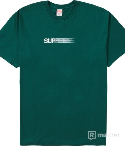Supreme Motion Logo Tee (SS20) Dark Green