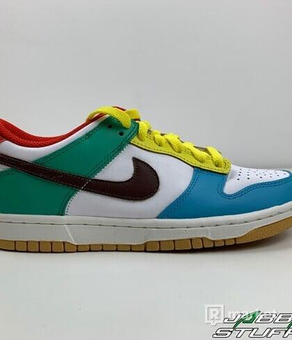 Nike Dunk Low SE Free99 White (GS)