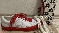 "Converse x Golf le Fleur One Star ""Racing Red"""