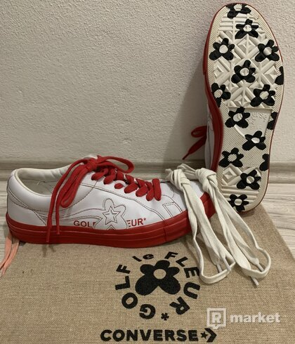 "Converse x Golf le Fleur One Star ""Racing Red"""