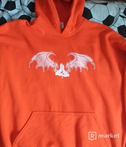 Lepra Delirio - Orange Hoodie