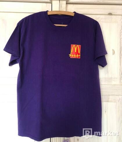 Travis Scott x McDonald Action Figure Series Tee (Purple)