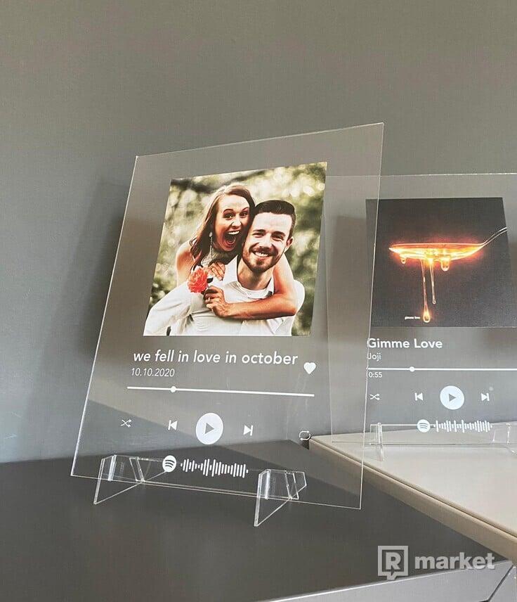 Custom Spotify Music Plaque