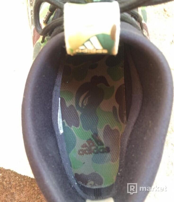 Adidas x Bape dame 4