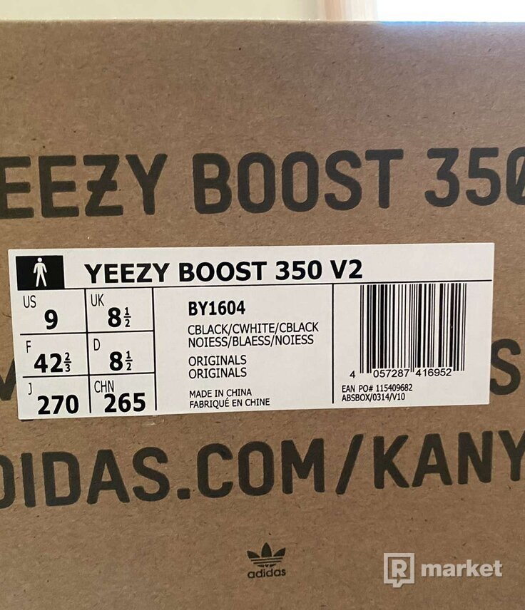 Adidas Yeezy 350 V2 Oreo