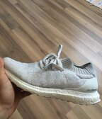 Adidas ultraboost uncaged white