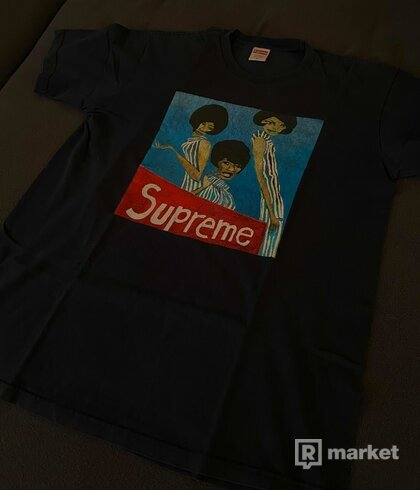 Supreme Group Tee Navy