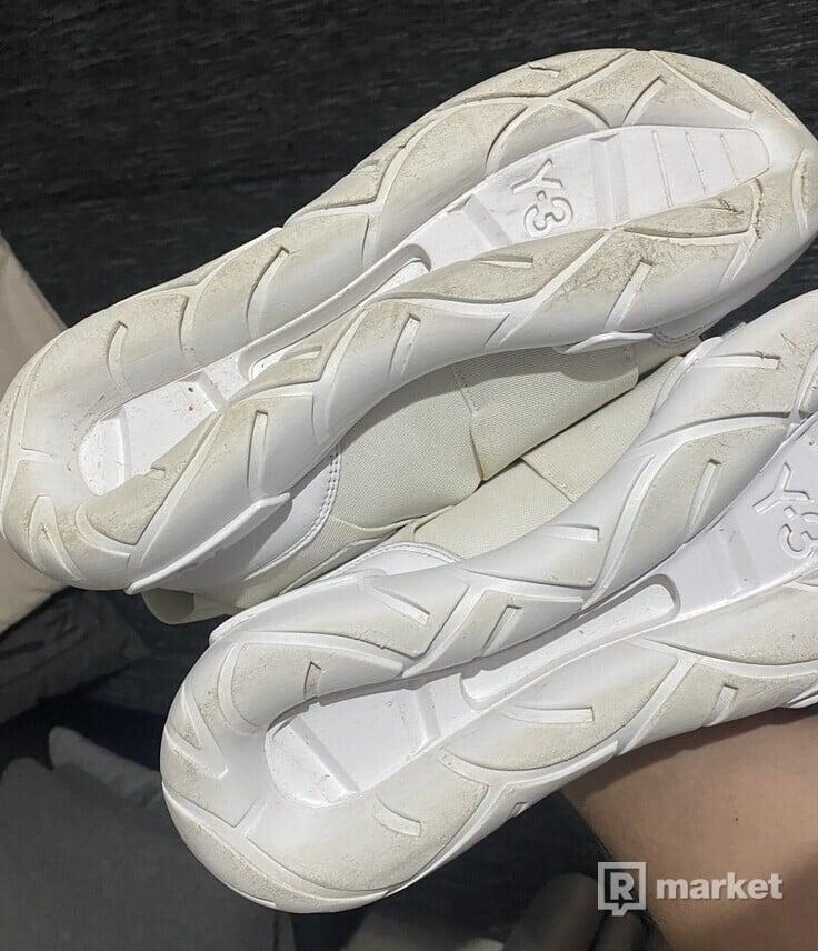 Adidas Y3 Qasa High White