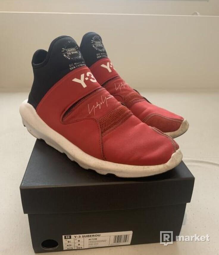 adidas Y-3 Suberou:Red