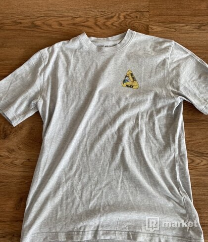 Palace Safe T-Shirt Grey Marl