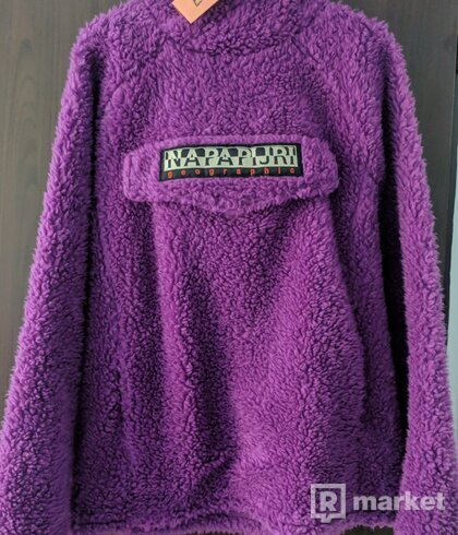Napapijri telve fleece hoodie