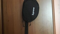 Wts-Supreme waist bag fw18 Black