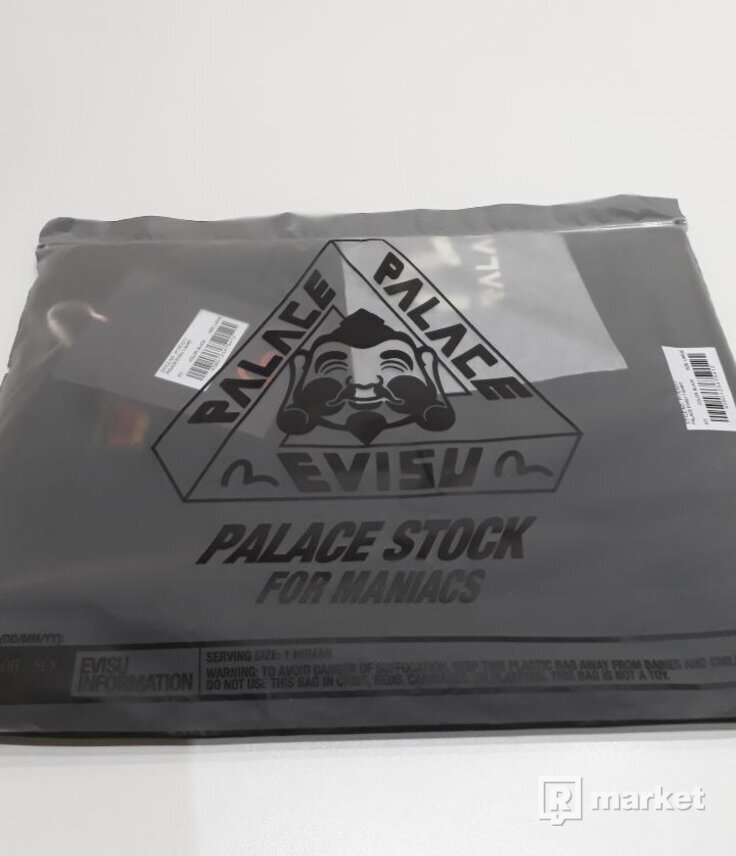 Palace Evisu T-Shirt Black