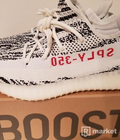 Yeezy Boost 350 V2 Zebra 44