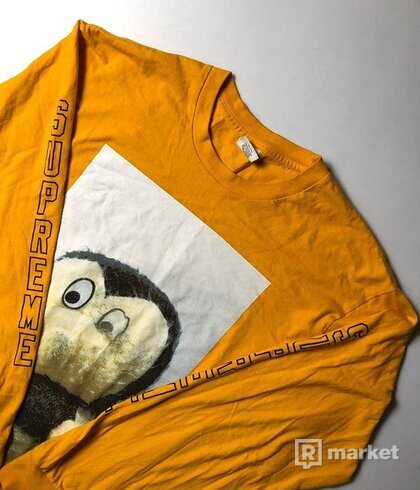 Supreme/Mike Kelley orange tee