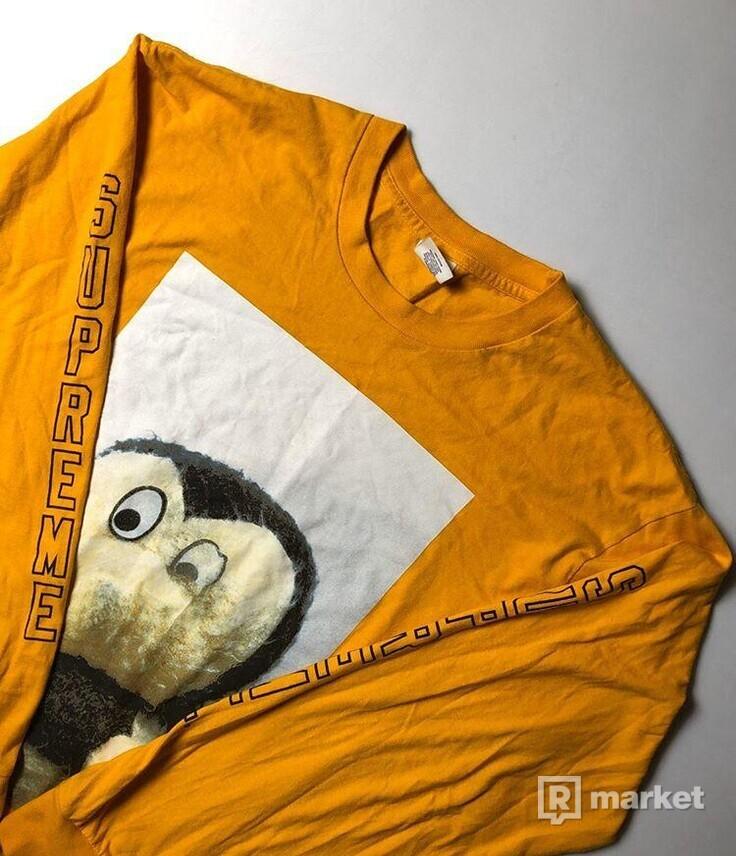 Supreme/Mike Kelley orange tee