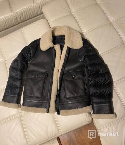 Moncler padded flight jacket