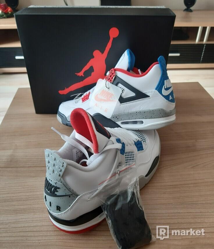 """Air Jordan 4 """"What the"""""""