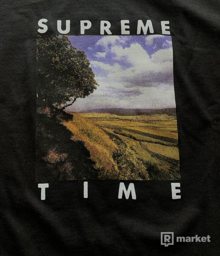 SUPREME supreme time tee