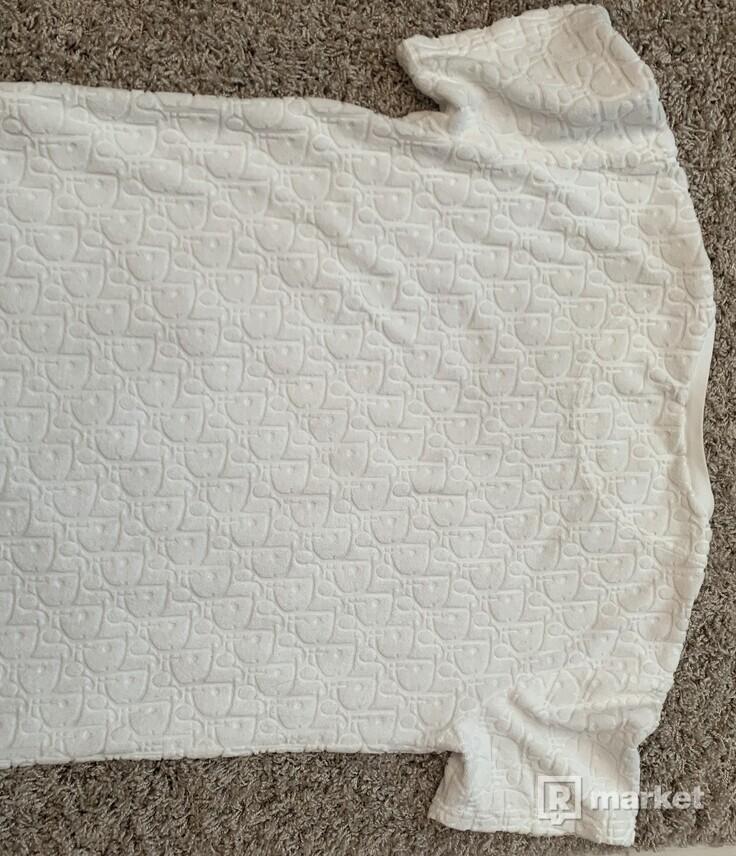 Dior oblique logo t-shirt