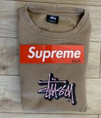 Stussy Shadow Stock Applique Crewneck