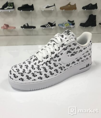 Nike Air Force 1 Low Logo Pack White