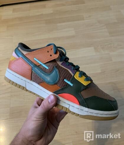 Nike Dunk low Scrap