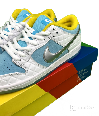 Nike SB Dunk Low Pro FTC Lagoon Pulse
