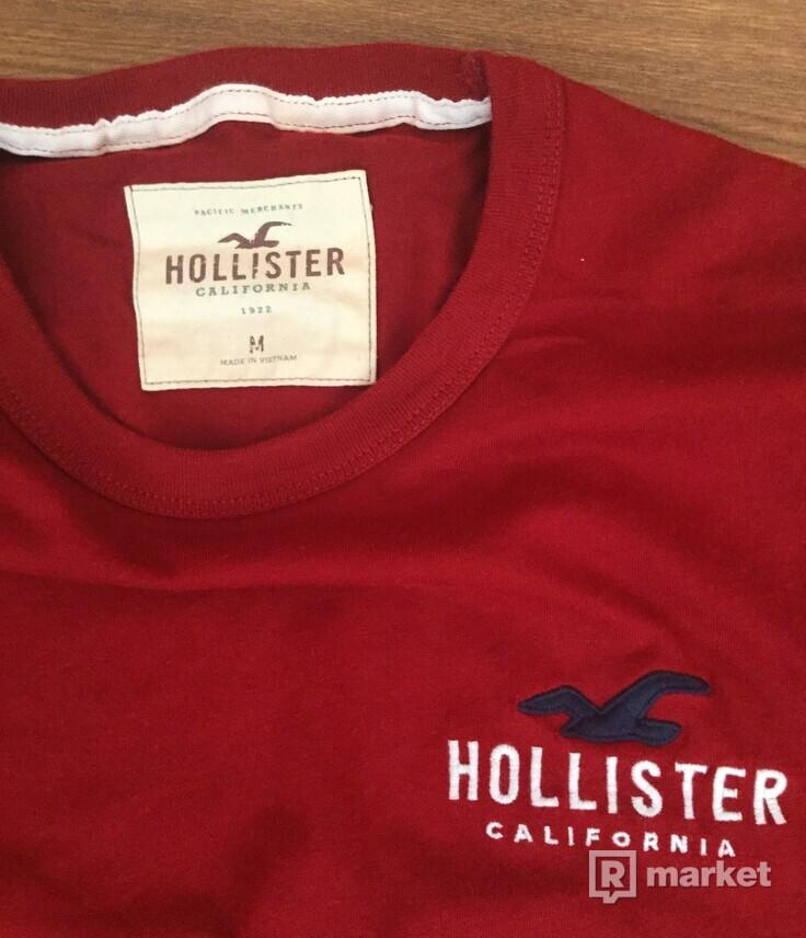 Hollister Pánske tričko dlhý rukáv  03bc708cbef