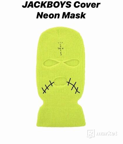 Travis Scott JACKBOYS Cover Neon Mask