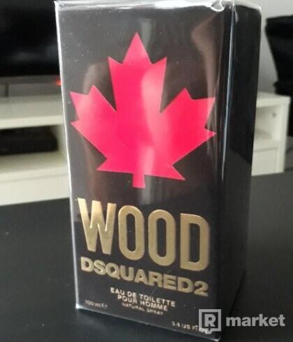 Dsquared2 WOOD - novinka - unisex parfum