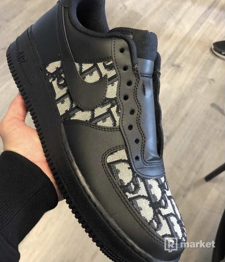 Nike air force custom Dior