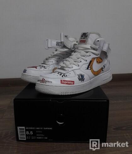 Nike AF 1 x NBA x Supreme