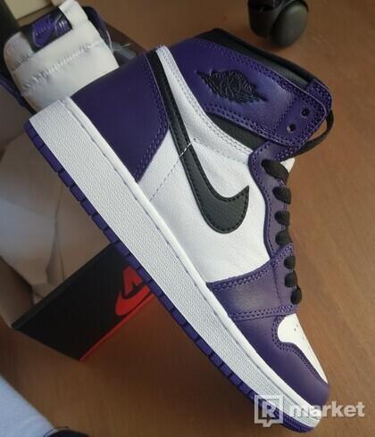 Air Jordan 1 Retro High court purple (gs) DS
