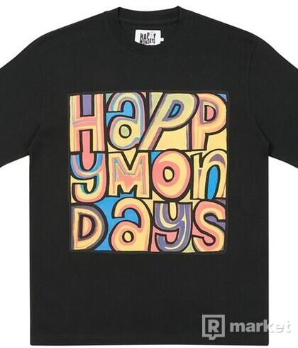 PALACE HAPPY MONDAYS COVER T-SHIRT BLACK