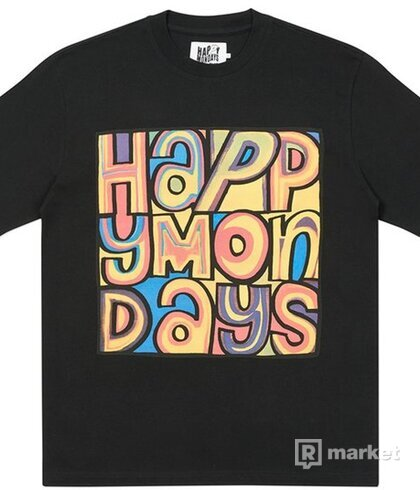 PALACE HAPPY MONDAYS COVER T-SHIRT BLACK
