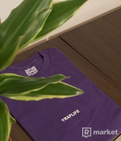 TRAPLIFE PURPLE WAX LIMITED TEE