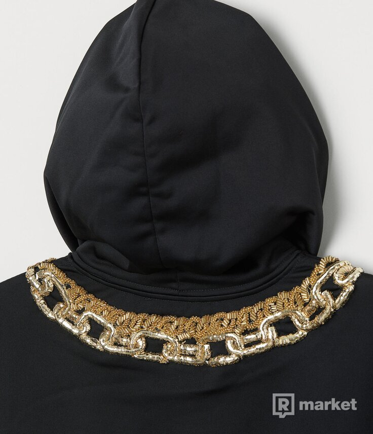 Bunda s kapucňou MOSCHINO x H&M veľ. M