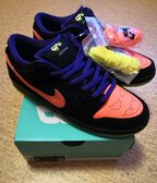 Nike SB Dunk Low Night of Mischief - 42.5