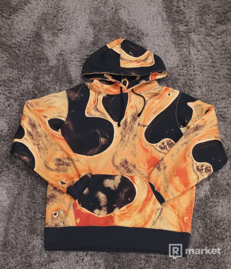 Supreme Blood And Semen Hoodie Black
