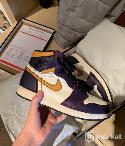 "Nike Air Jordan 1 SB ""LA to Chicago"""