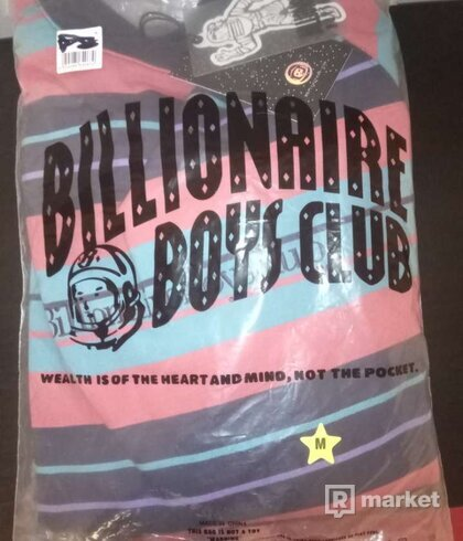 Billionaire Boys Club Striped Crewneck