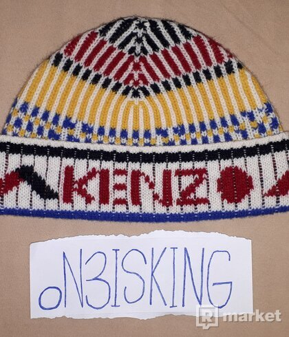 KENZO Peruvian Knit Beanie
